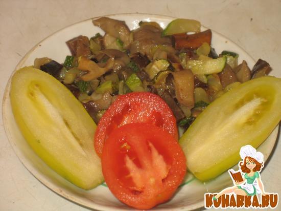 Рецепт Закуска из грибов и цуккини