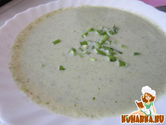 Рецепт Суп Вишисуаз с цветной капустой