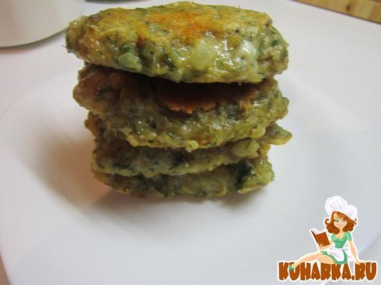 Рецепт Картофельные оладьи с сыром и укропом