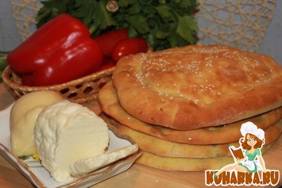 Рецепт Чечевичные лепешки с сыром и зеленью