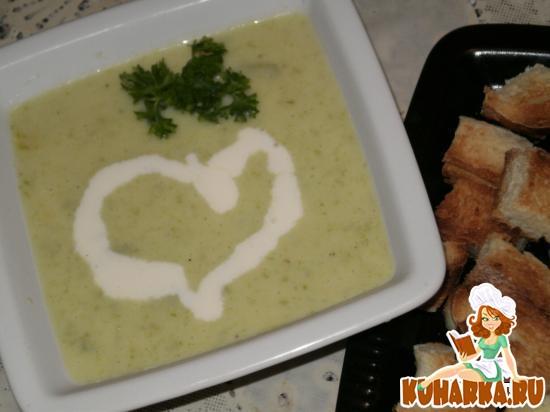 Рецепт Кабачковый суп-пюре