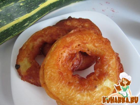 Рецепт Кабачковые кольца
