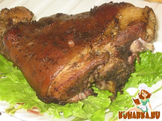 Свиная рулька в мультиварке редмонд рецепт с пошагово