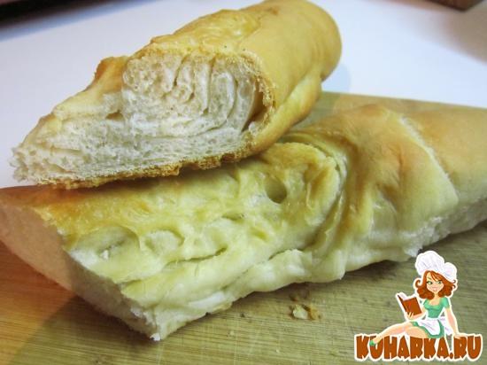 Рецепт Хлеб слоеный