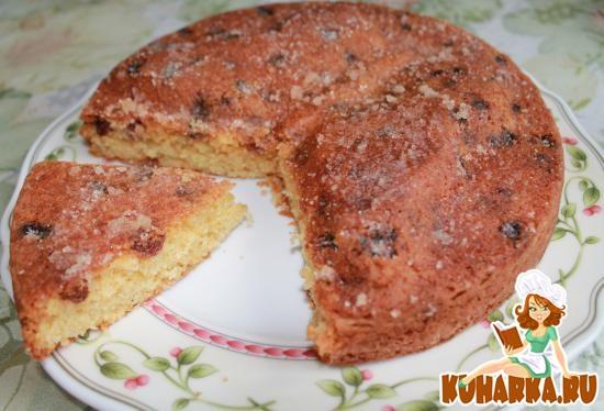 Рецепт Чайный пирог с корицей