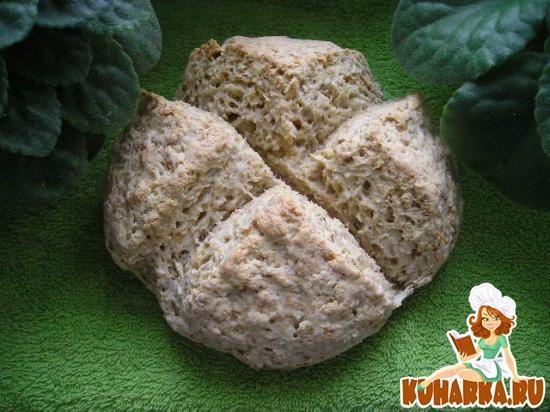 Рецепт Ирландский содовый хлеб