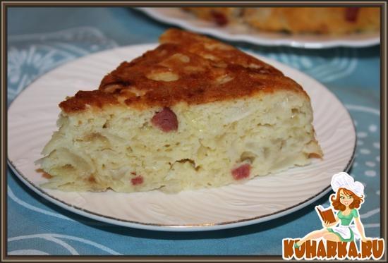 Рецепт Капустная шарлотка
