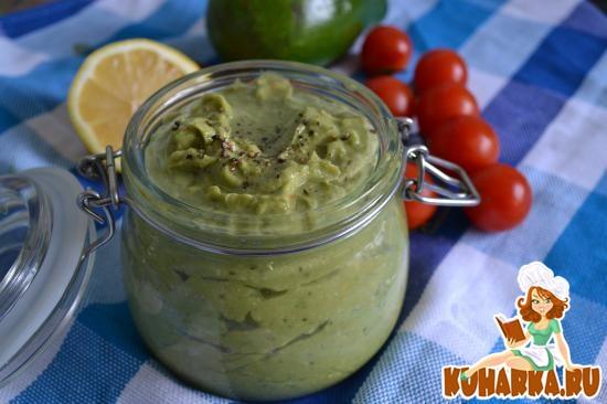 Рецепт Мексиканский соус из авокадо Гуакамоле
