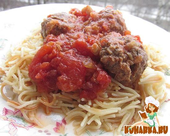 Рецепт Тефтельки с томатом