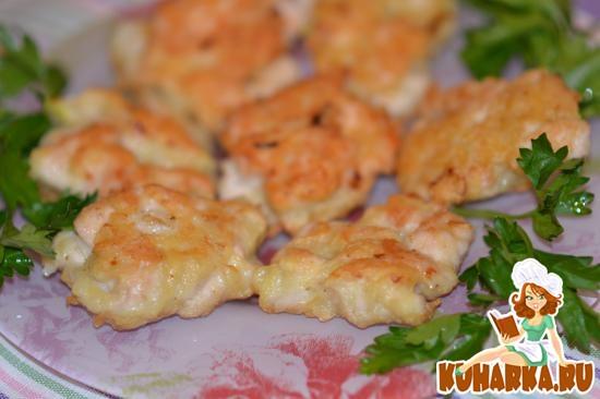 Рецепт Рубленные куриные котлетки