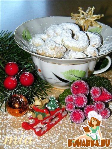 Рецепт Ванильные полумесяцы (Vanille - Kipferl)