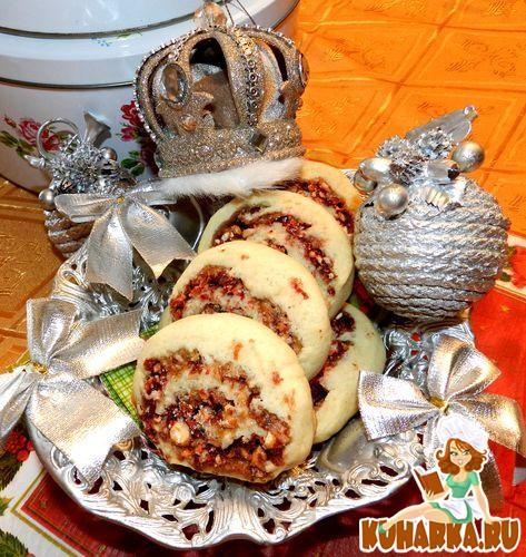 Рецепт Клюквенно-миндальное печенье