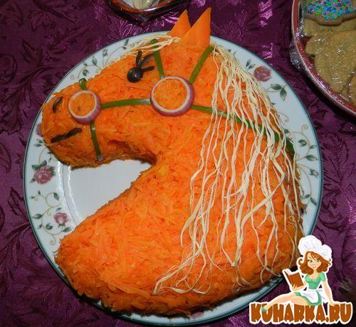"""Рецепт Салат """"Лошадь"""""""