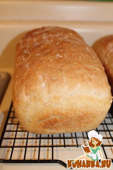 Рецепт Хлеб без замеса на сыворотке