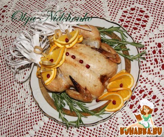 Рецепт Курица в имбирно-апельсиновом маринаде
