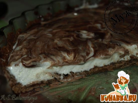 Рецепт Шоколадный торт-мороженое