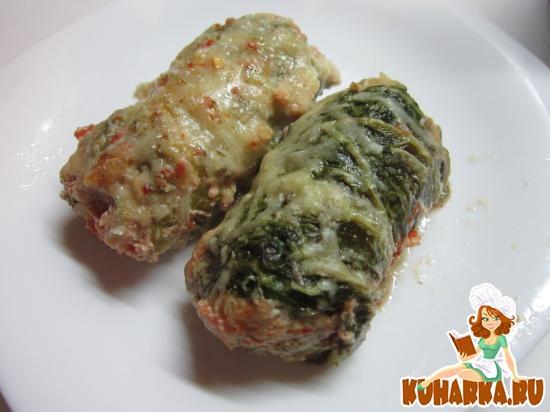 Рецепт Голубцы из пекинской капусты запеченные