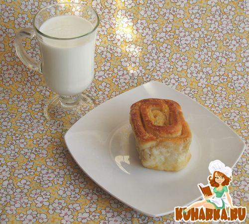 Рецепт Булочки-улитки в молочном сиропе