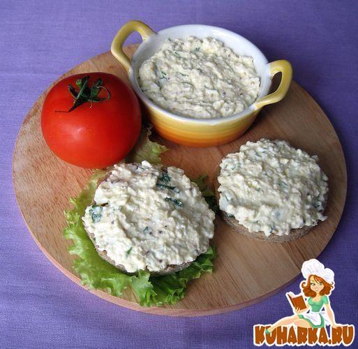 Рецепт Яичный паштет с горчицей