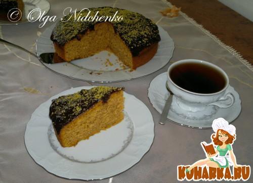 Рецепт Тыквенный пирог с орехами