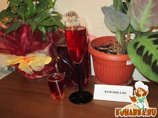 Рецепт Малиновая водка