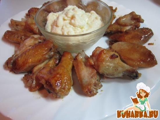 Рецепт Крылышки куриные запеченые
