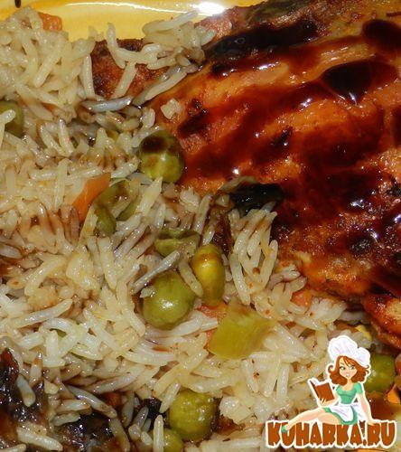 Рецепт Почти ленивый рис