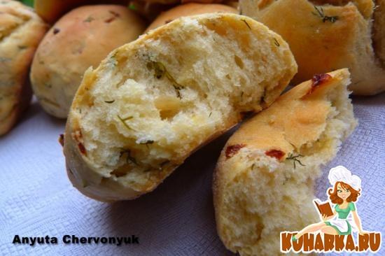 Рецепт Булочки с укропом в хлебопечке.