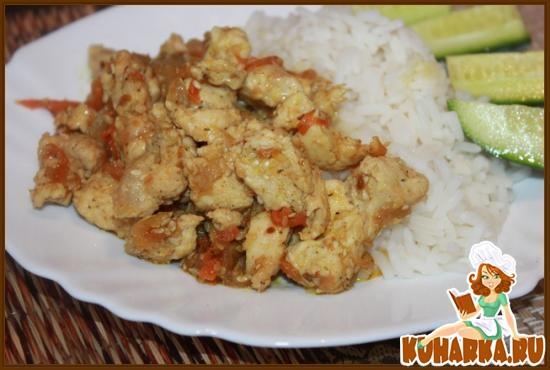 Рецепт Курочка (или мясо) в восточном стиле