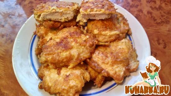 Рецепт Куриное филе в сырной панировке