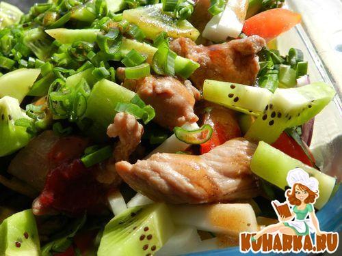 Салат райская птичка рецепт с фото