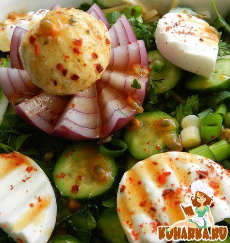 """Рецепт Салат """"Весенние витаминки"""""""