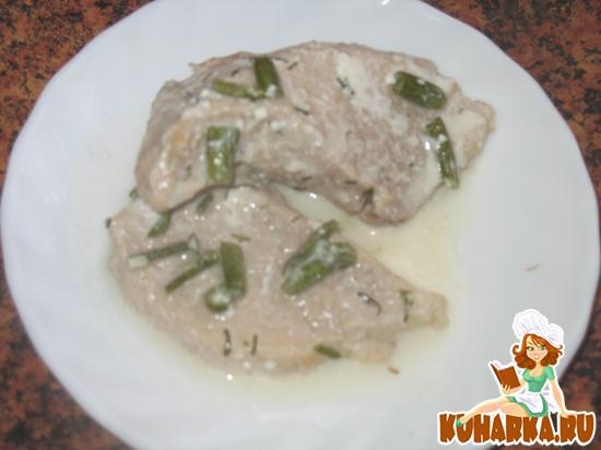 Рецепт Свинина, тушенная со сметаной