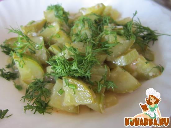 Рецепт Кабачки по-алжирски