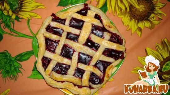"""Рецепт Вишневый пирог """"для ленивых"""""""