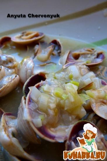 Рецепт Альмеха с чесночным соусом.