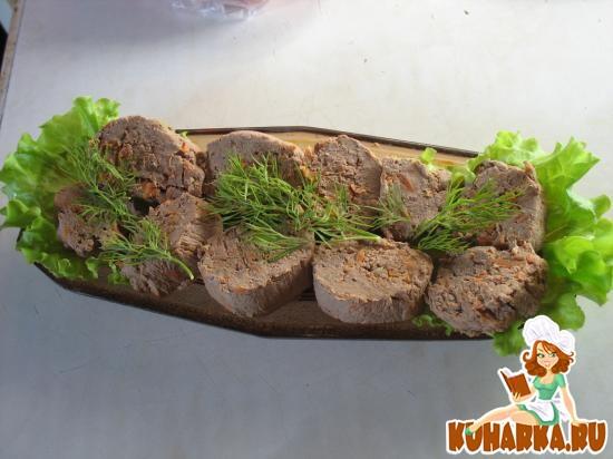 Рецепт Паштет из куриной печени с морковью