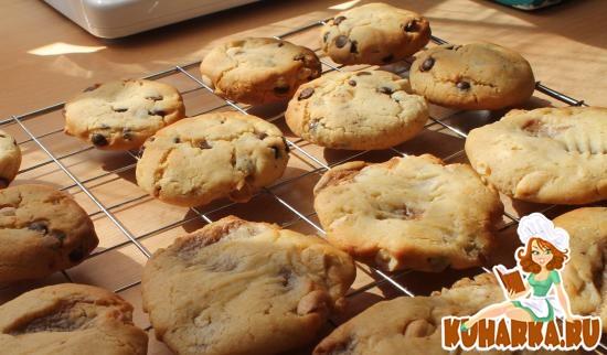 Рецепт Тоффи-кешью печенье (Toffee-Cashew Cookies)