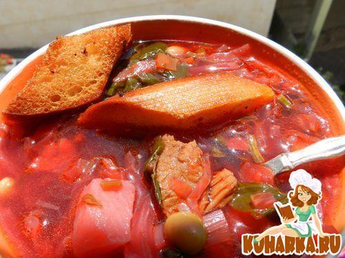 Рецепт Борщ с бараниной