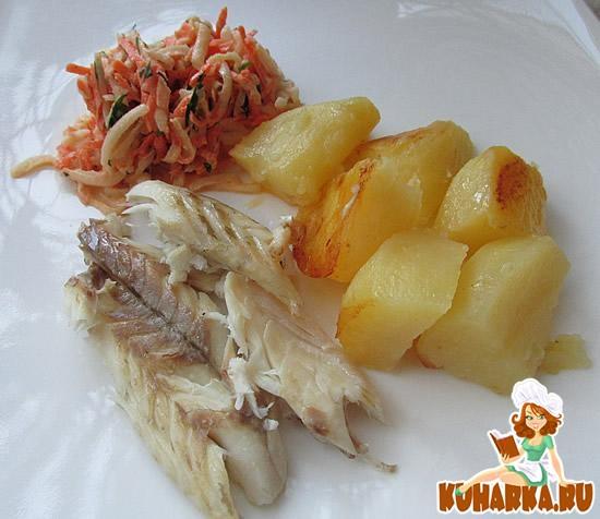 Рецепт Сибас, запеченный в соли