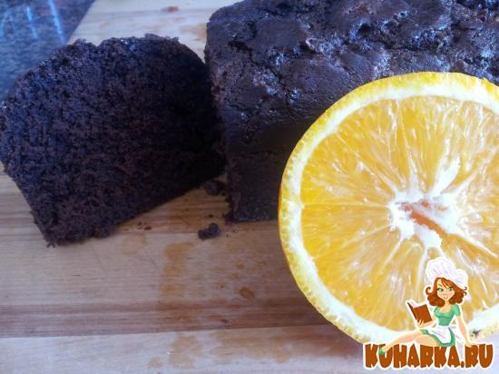 Рецепт Шоколадный пирог с ароматом апельсина