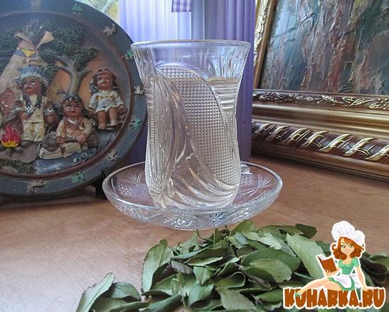 Рецепт Чай из брусничного листа