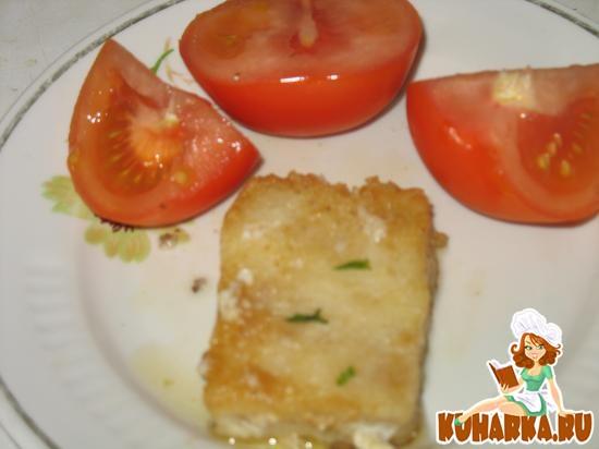 Рецепт Пластинки рыбного фарша жареные