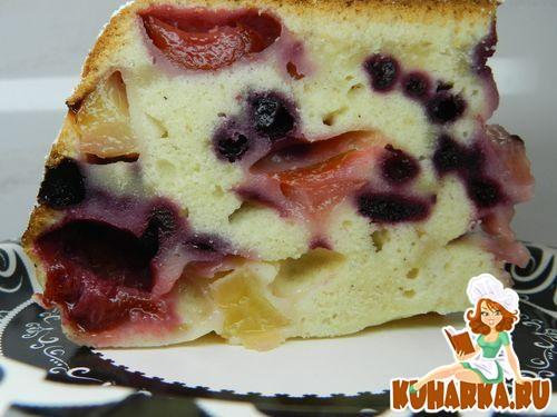 Рецепт Фруктово-ягодный пирог