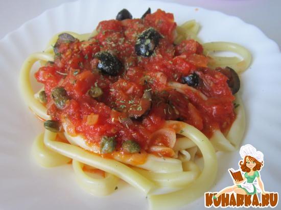 Рецепт Макароны в томатном соусе