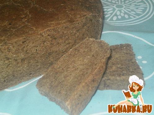 Рецепт Ржаной хлеб с овсяными хлопьями в мультиварке