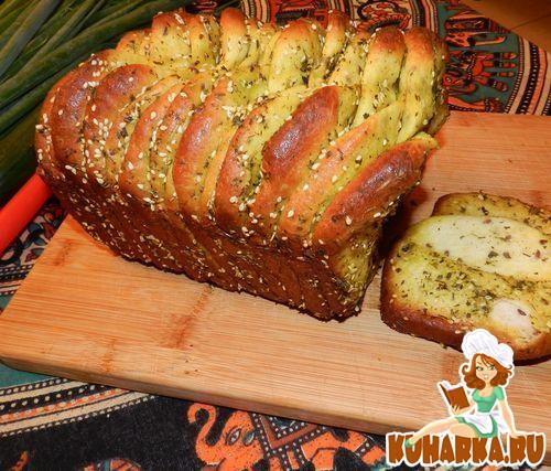 "Рецепт Сербский хлеб ""Погачице"" на ряженке"