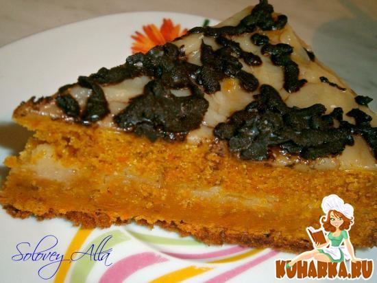 Рецепт Бразильский морковный торт (мультиварка)
