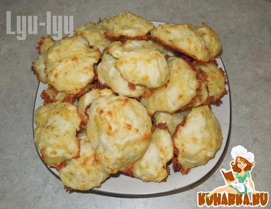 Рецепт Сырные слойки