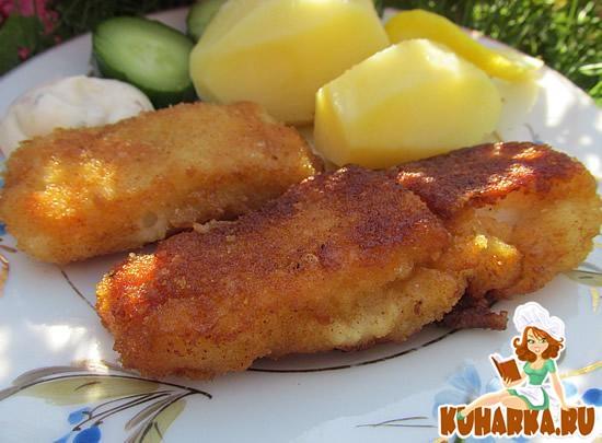 Рецепт Жареная рыбка